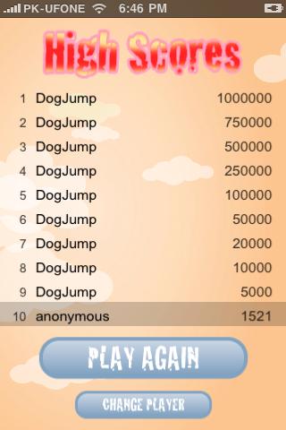 Screenshot iDog Jump